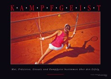 Motivationsposter - KAMPFGEIST