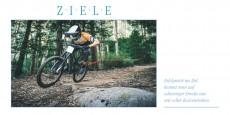 ZIELE Grußkarte Mountainbike