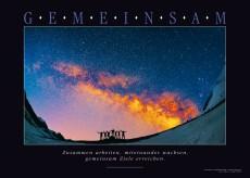 Acrylbild GEMEINSAM – Motiv Universum