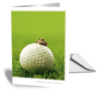 Golf Grußkarte GOLFPRINZ