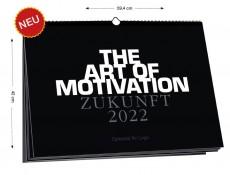 Wandkalender ZUKUNFT - 2022 - Din A2 Black Edition
