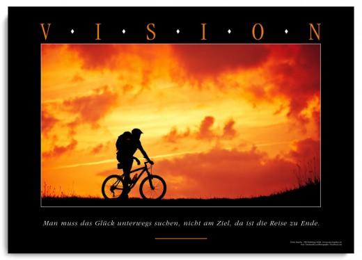 Motivationsposter VISION