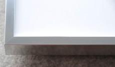 Rahmen in silber - 50 cm x 70 cm
