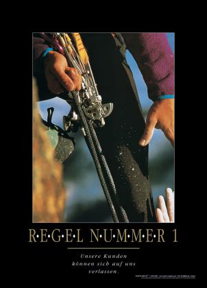 REGEL NUMMER 1