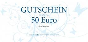 Gutscheine - Das beliebteste Geschenk