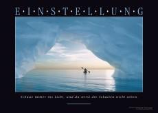 Motivationsposter - EINSTELLLUNG Wandbild