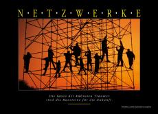 NETZWERKE Wandbild