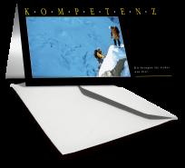 Grußkarte KOMPETENZ - Bergsteiger