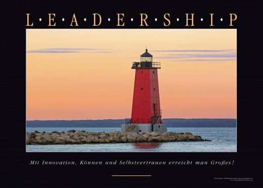 LEADERSHIP Motivationsbild Digitaldruck