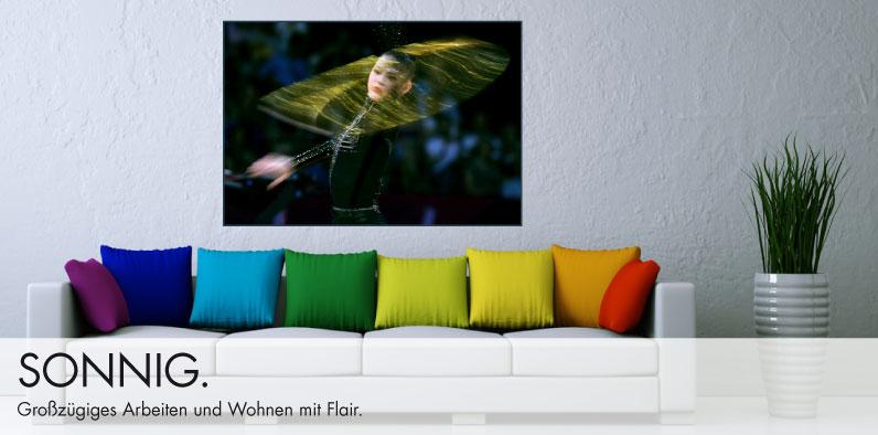 Luxuriöse Acrylbilder von preisgekrönten Fotografen in  limitierter Auflage.