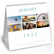 Tischkalender ZUKUNFT 2022 groß (21 cm x 21 cm)