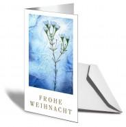 FROHE WEIHNACHTEN Grußkarten Eisblume 20er Set