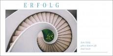 Grußkarte ERFOLG - Treppe